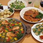 kumakichi食堂 - 宴会コース一例