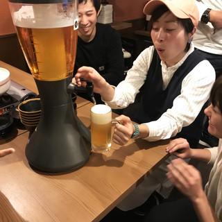 一乗寺店名物★ビールが楽しくって美味しい★一乗寺タワー!!!