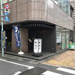 ぎんざ 神田川 - 築地市場正門に向かう道沿いです