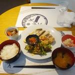 和食 明美 - イナダ西京焼きランチ1,200円