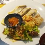 和食 明美 - イナダ西京焼きランチ(1,200円)
