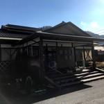 お食事処ホームランド多里 - 2017年11月外観(逆光)