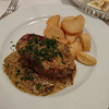 キャフェ・ドゥ・ブローニュ - 料理写真:牛もも肉のステーキ マスタードソース
