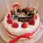 オリーブ - 料理写真:クリスマスケーキご予約承ります!