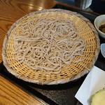 みずの風 蕎麦処 - 天ぷらざるそば 1650円 (税込)