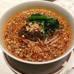 77154475 - 酸辣湯麺 (前菜、スープ、ご飯付き)四川式黒酢の効いたサンラータン麺                       1250円