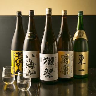 日本酒にこだわる◎ALL400円(税抜)均一!人気銘柄多数