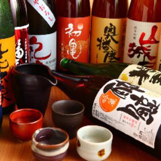 こだわりの日本酒がずらり♪ハイボールがお得になるかも!?