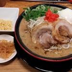 博多 一風堂 - ソースとんこつ(麺なし)