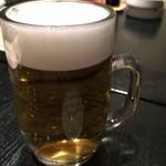 すし居酒屋 樽 - 生ビールで乾杯!