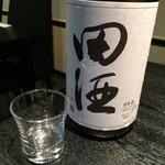 すし居酒屋 樽 - 大好物の田酒の純米