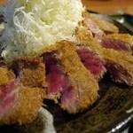 牛とん亭 - 牛カツ定食(120g)¥1480-