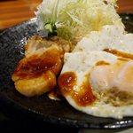 牛とん亭 - トンテキ定食(120g)¥880-