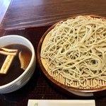 よし松 - 料理写真:鴨せいろ 1450円(そば茶、そば湯付き)