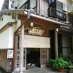 竹の子家 - 玄関の様子