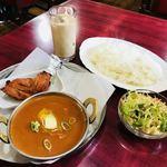 ミヤギディ レストラン - タンドリーチキンセット 税込1,150円
