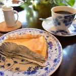 カフェ・ド・パルファン - チーズケーキ