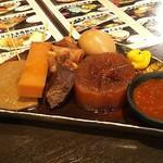 酒道 ハナクラ しぞ~かおでん - 料理写真:静岡おでん5点盛り450円