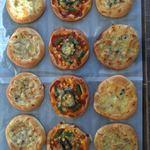 シーズテラス - 彩り野菜のピザ(¥200)