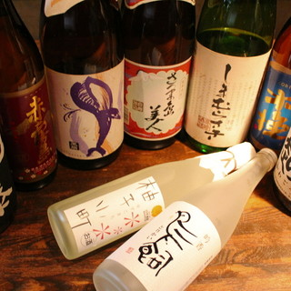 ◇焼酎・地酒◇料理と相性の良いお酒多数取り揃え◎