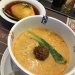 ハマムラ - 担々麺とミニ天津飯セット
