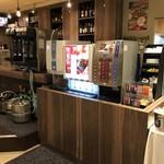 カフェ&ダイニング ライラック - ドリンクバーでお酒を割ったりして下さい。