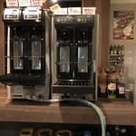 カフェ&ダイニング ライラック - 全自動のビールサーバーでビールやサワー類も自分で作れちゃいます!