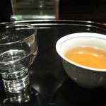 紗羅餐 - 日本酒、銘柄忘れた