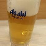 かつや 代々木駅前店 - 生ビール 453円