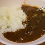 濃厚ラーメン じゅん - 牛肉とキノコのミニハヤシライス