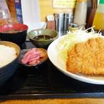 さくとん - 料理写真:上ロースカツ定食☆