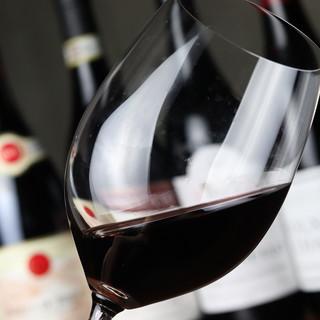 チーズのおいしさを引き出す多彩なワインで至極のひと時