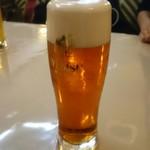 フォカッチャ - 琥珀ビール