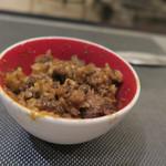 あもん ヨコ - 土釜炊きご飯(4)喰らう