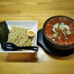 武市総本店 - 石焼つけ麺(激辛200)