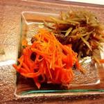 京都ダイナー - お野菜惣菜の2種盛り