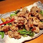 むげん - 鶏肉のおろしポン酢和え