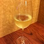 京都ダイナー - 〆の樽生白ワイン! これすごい〜〜〜☆*:.。. o(≧▽≦)o .。.:*☆