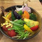 77172450 - チキンと一日分の野菜20品カレー