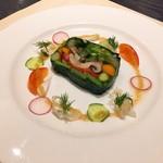 77173972 - 野菜のテリーヌ ハーフサイズ
