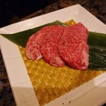 焼にく 和牛食堂 - 常陸牛ロース(1皿)