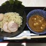 鶏白湯らーめん 自由が丘 蔭山 - 鶏白湯特製つけ麺