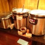 焼にく 和牛食堂 - カレー、スープ、ライスコーナー