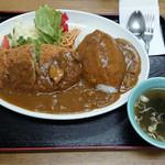 総理屋 - ...「カツカレライス(980円)」、辛くない給食の様な美味カレー(泣)