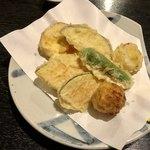 正衛 - 野菜の天ぷら。