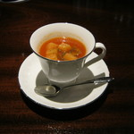 Bar シャーロック - 「ハドソン婦人のトマトスープ」です。
