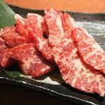 焼肉 太郎 - 特選牛カルビ(塩)