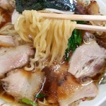 青島食堂 - ツルツル麺