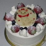 アンファン ネージュ - 料理写真:ホールケーキ