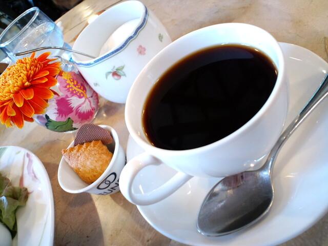 カフェ フロインドリーブ 本店 - 有機栽培コーヒー¥500